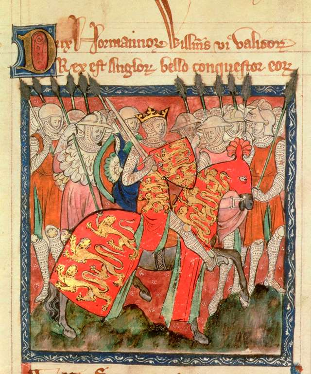 william-the-conqueror-manuscript-illustration