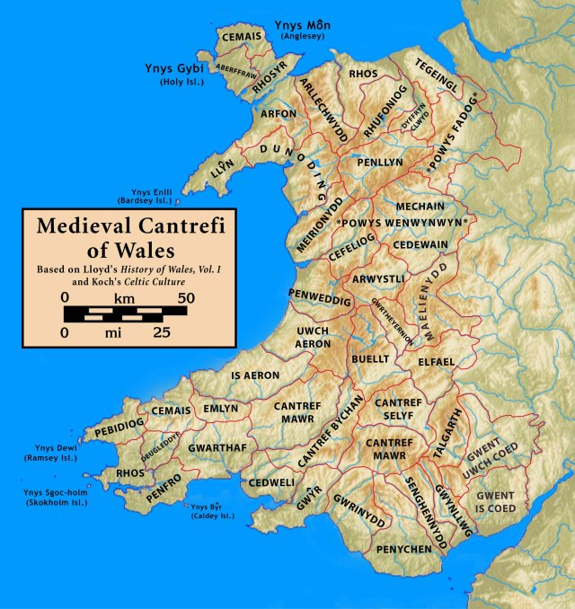 Cantrefi.Medieval.Wales