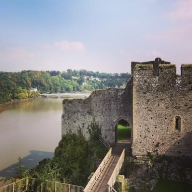 The Castle still dominates the River Wye